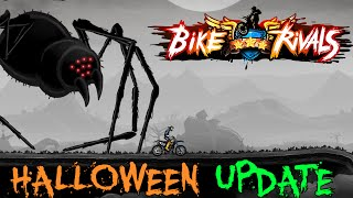 Bike Rivals: Halloween update trailer - iOS and Android gameplay