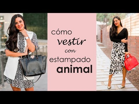 10ee44d88a8167 Looks con animal print - YouTube