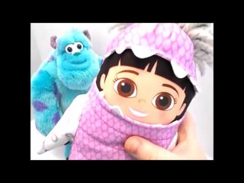 Monsters Inc Sully Boo Plush Talking Toy Youtube