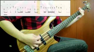 Tame Impala - 'Cause I'm A Man (Bass Cover) (Play Along Tabs In Video)