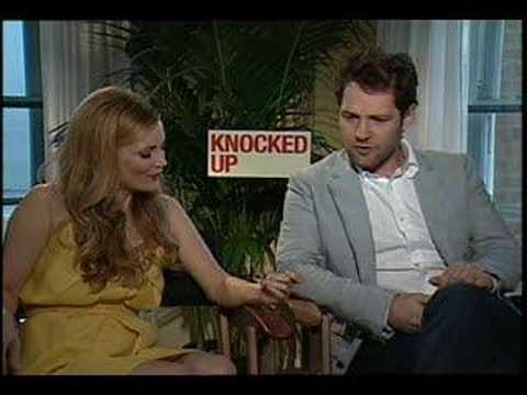Leslie Mann Paul Rudd interview for Knocked Up