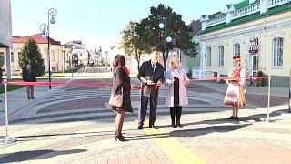 Пинск отметил 921-летие: торжественное открытие пешеходной ул. Ленина