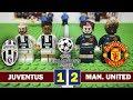 JUVENTUS 1 - 2 MANCHESTER UNITED - Champions League 2018 -  Resumen y goles - Fútbol LEGO