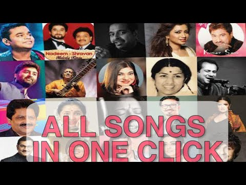 download all songs of any singer(arijit,atif,shreya,neha,rafi,kishore,lataji) in one click 100% work