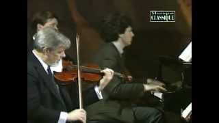 Brahms Klavierquartett nr 1 op 25 Mikhail Rudy, Guarneri Quartet.avi