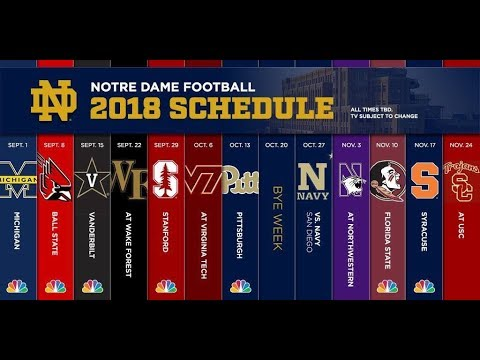 Notre Dame Football Hype Video 2018-2019 || Caution: May Give Fans Chills
