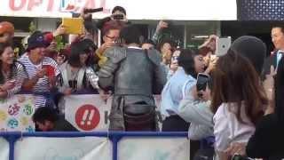第7回沖縄国際映画祭、レッドカーペット初沖縄市で開催の様子です! 会...