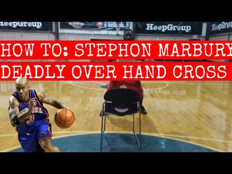 HOW TO: STEPHON MARBURY DEADLY OVER HAND CROSS