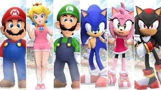 Mario & Sonic at the London 2012 Olympic Games - All Characters