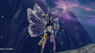 blade and soul mod all white butterfly wings 2015 replaces sunflower headband china only