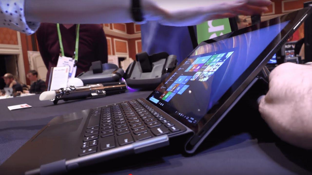 $799 Lenovo Miix 630 Tablet convertible Windows 10 with Qualcomm Snapdragon  835