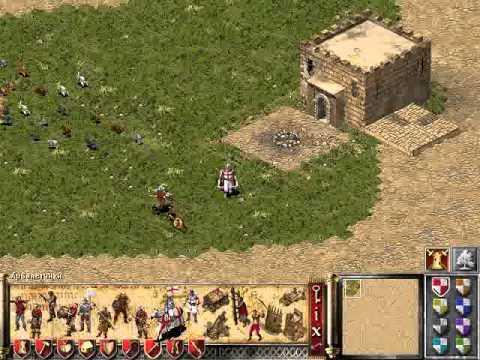 Создание карты Stronghold Crusader