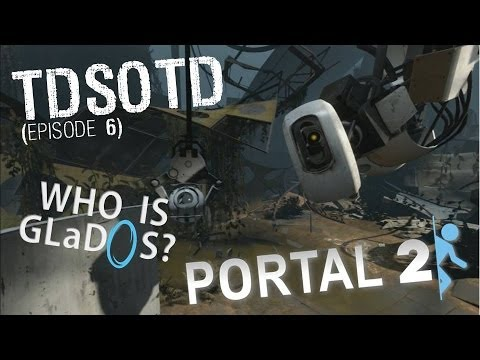 Portal 2: Who Is GLaDOS? - THE DARKER SIDE OF THE DISC