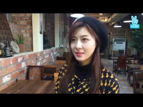[161214] Ha Ji Won Vline 하지원 배우를 만나다 LIVE