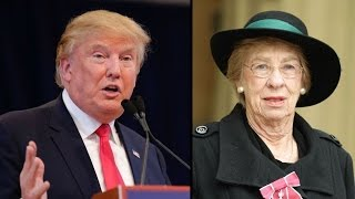 Anne Frank's Stepsister: Donald Trump Is Acting 'Like Another Hitler' - Newsy