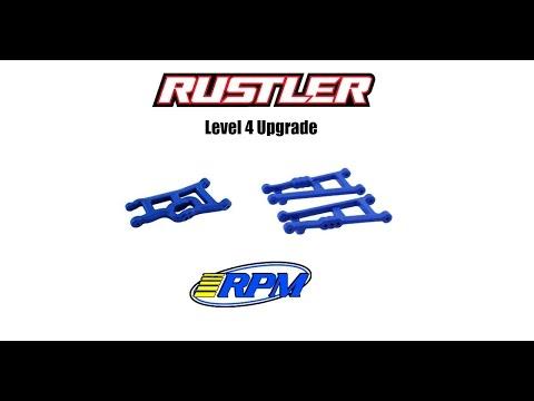 Traxxas Rustler Level 4 Upgrade  RPM A-Arms