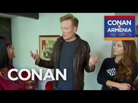 Conans Crash Course In Armenian   CONAN on TBS