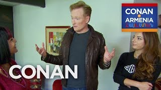 Conan's Crash Course In Armenian  - CONAN on TBS