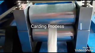 Carding Machine & Process || Sliver making || Yarn manufacturing technology || ISTT || Textile 360