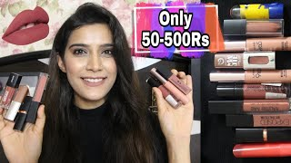 Top 10 Favorite Nude Lipsticks (50-500 Rs.) Super Style Tips