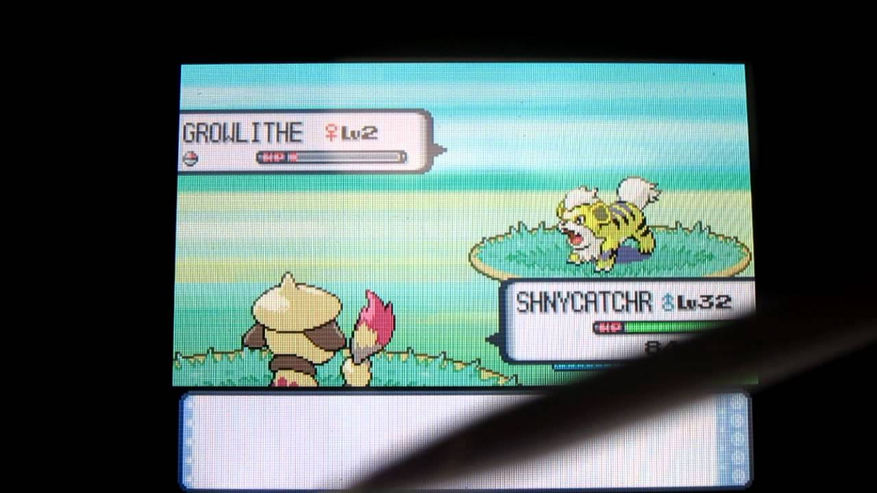 how to catch growlithe in soul silver