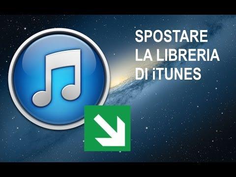 Tutorial Mac #23 - Come spostare la Libreria di iTunes