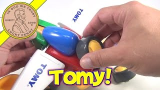 Tomy Constructables Motorized Building Playset For Kids - 4 Vehicles Set