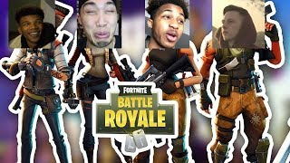 FORTNITE BATTLE ROYALE EN LA VIDA REAL! DDG,TreOnTheBeat, Nateslife, Chino