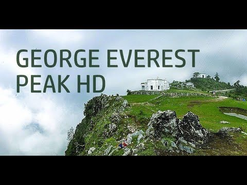 CLOUD CAPPED HILLS AT GEORGE EVEREST PEAK HD IN  MUSSOORIE (UTTARAKHAND) - MUST SEE PLACE TO VISIT