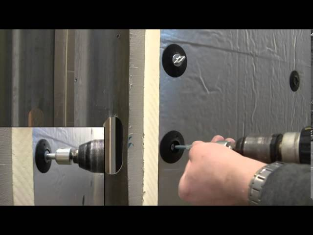 Thermal-Grip® brick tie washer with Pos-I-Tie® demo