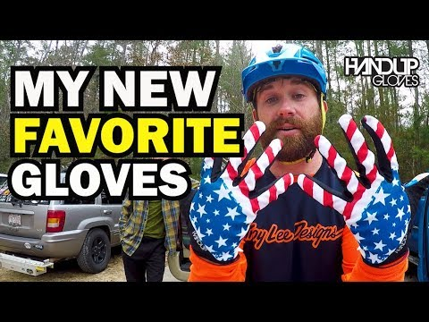 My New Favorite Mountain Biking Gloves   Handup Gloves - YouTube