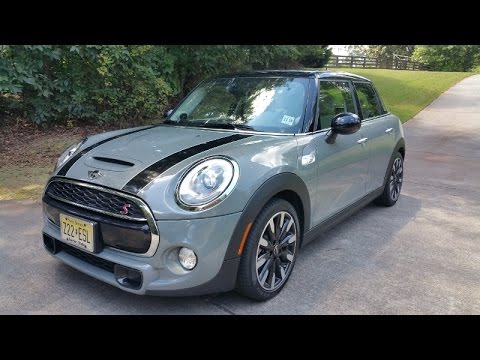 Mini Cooper S Hardtop 4 Door Review Fun Handling W Seats For 4
