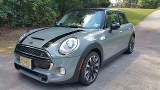 MINI Cooper S Hardtop 4 door Review - Fun Handling w/ Seats for 4