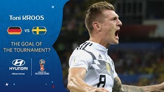 Toni KROOS - HYUNDAI GOAL OF THE TOURNAMENT - NOMINEE