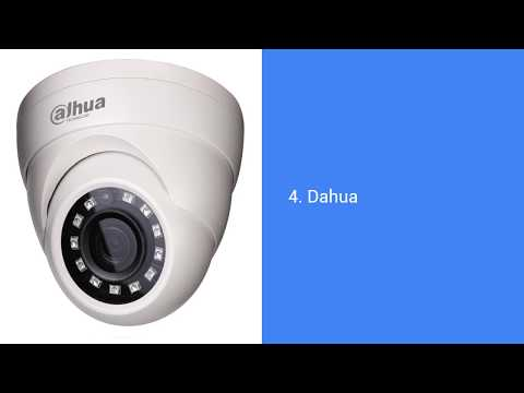 Top 10 CCTV Camera Brands In India | VelaCCTV