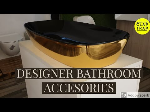 DESIGNER WASHBASIN AND OTHER BATHROOM ACCESSORIES