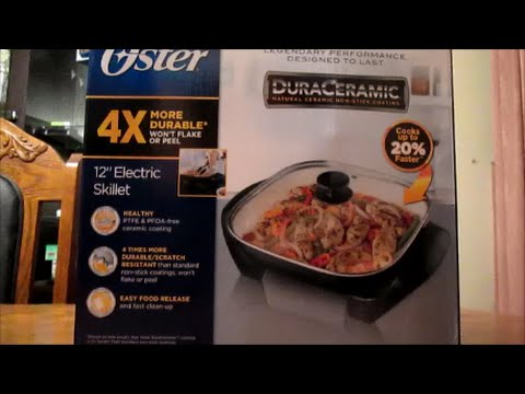 Oster Skillet Review and cooking butter chicken