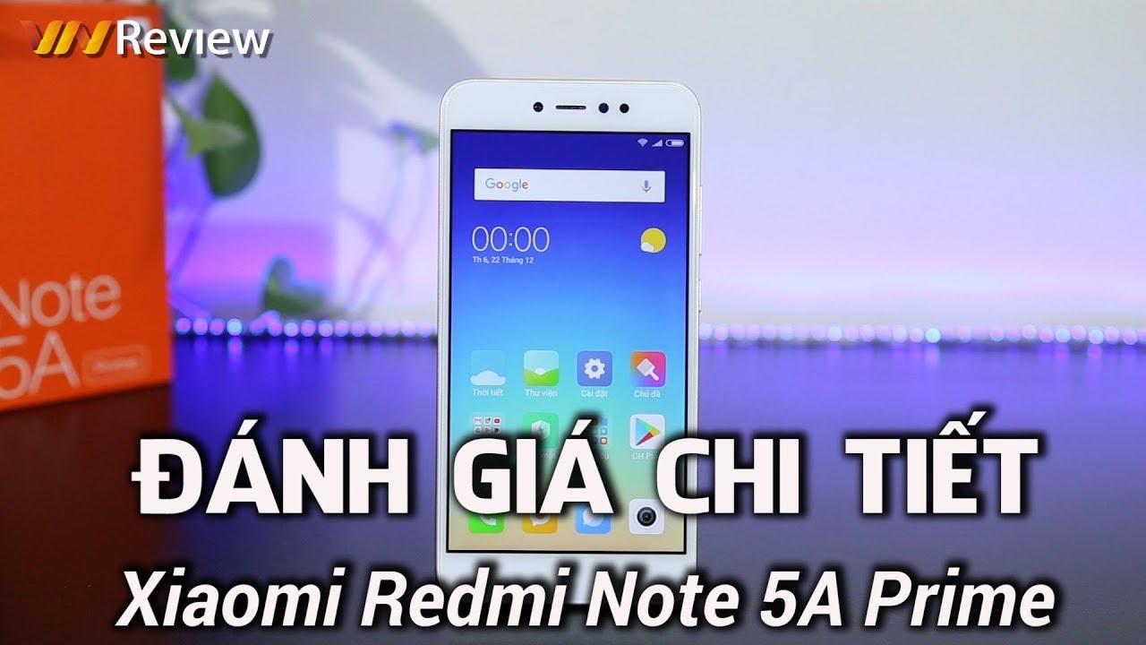 ✅VnReview – Đánh giá chi tiết Xiaomi Redmi Note 5A Prime: tốt thôi là chưa đủ với Xiaomi
