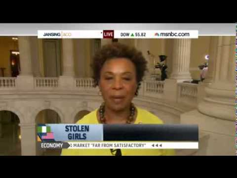 Congresswoman Lee Speaks With Chris Jansing About Ensuring Nigerian Girls