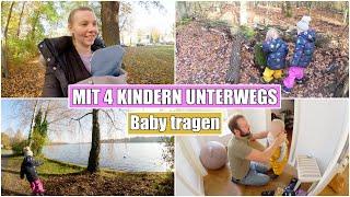 Mit Baby unterwegs 🥰 4. Lebenswoche & Familien Leben | Isabeau