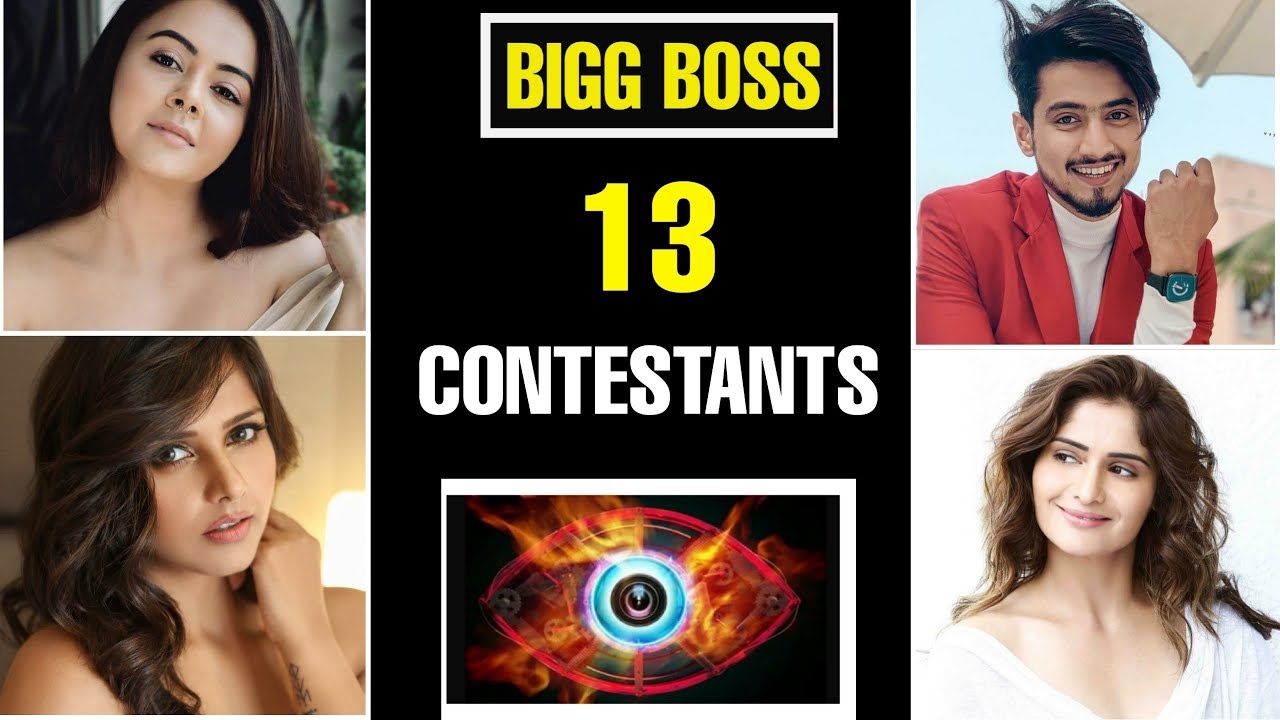 Bigg Boss 13 Contestants Name List 2019 Bb13 Salman Khan
