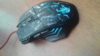 "Review de el Mouse Gaming de Aukey: KM-C1 ""Español"""