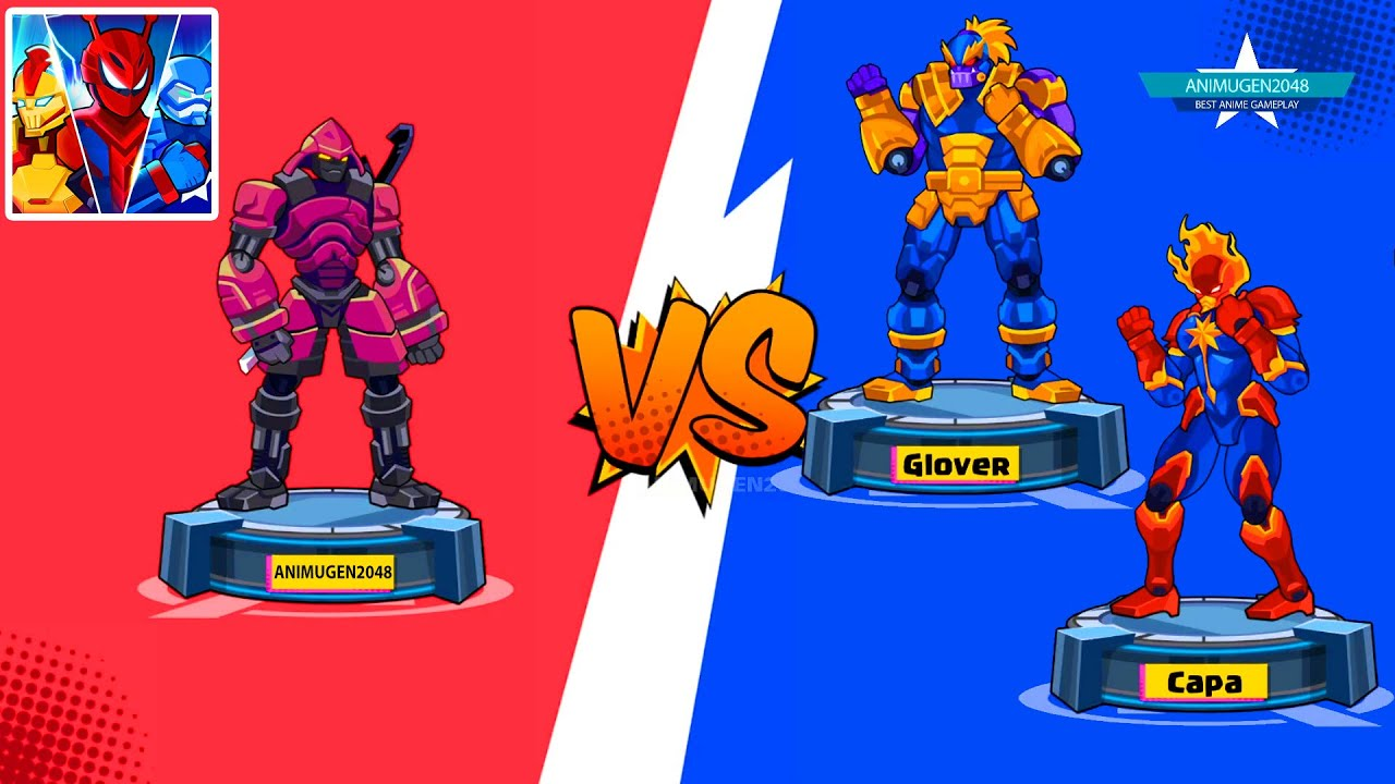 🤖ROBOT SUPER HERO SAMURAI vs GLOVER ROBOT - CAPA ROBOT WAR FIGHTER 👊 Best Gameplay #FHD Animugen2048