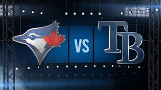 4/4/16: Three homers power Blue Jays over Rays