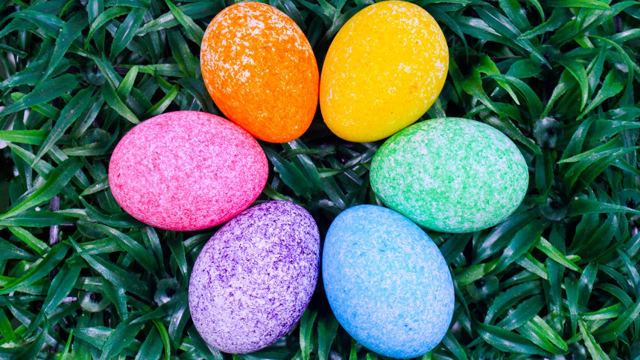 how to color easter egg with rice grains coloring easter egg for