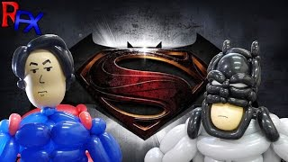 "Balloonitech: Batman v Superman ""Comic-Con Footage"""