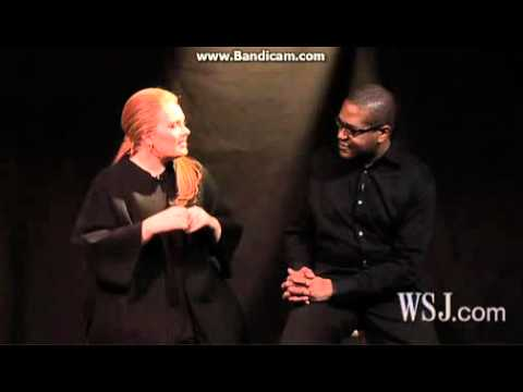 Adele - Interview On WSJ with Christopher John Farley (February 11, 1011)