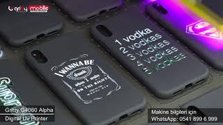 G4060 telefon kilifına uv baski gritty mobile