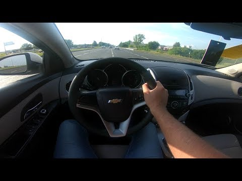 2013 Chevrolet Cruze 1.6L (109) POV Test Drive