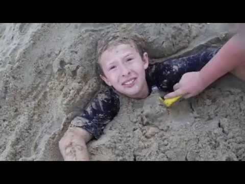 Ray Stuck in Sand